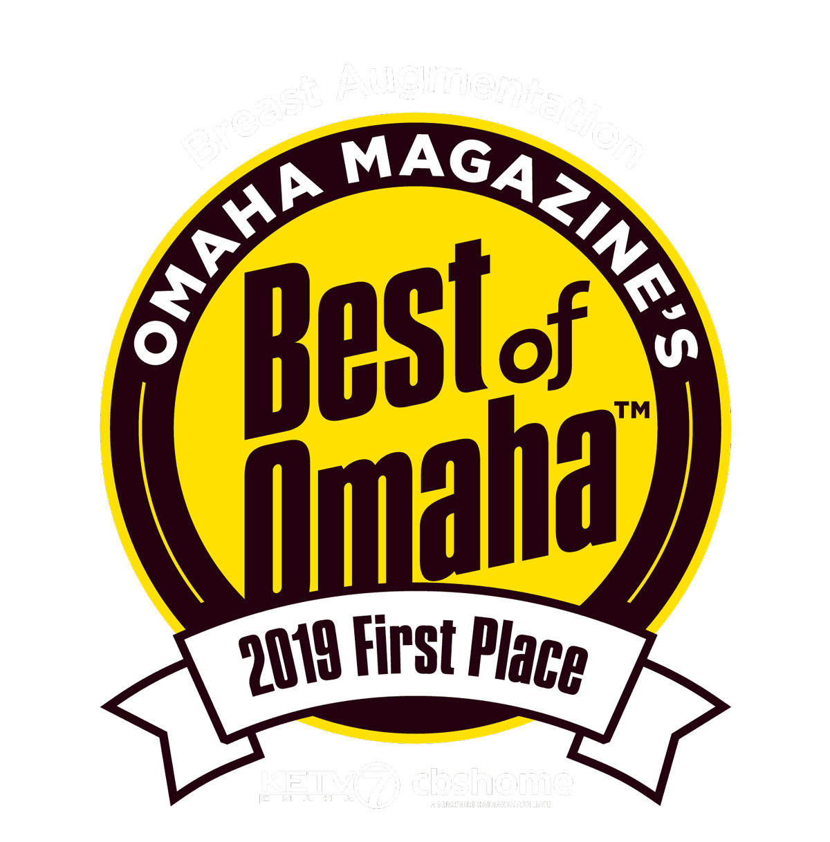 2018 Breast Augmentation Best of Omaha Badge