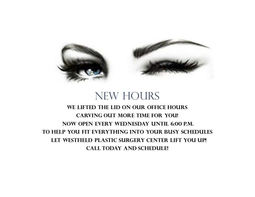 Wednesday hours promo 2018